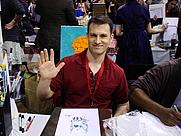 Author photo. MoCCA Art Festival 2010, photo by Lampbane