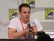 Author photo. Geoff Johns Spotlight, San Diego Comic-Con International 2009, photo by Loren Javier