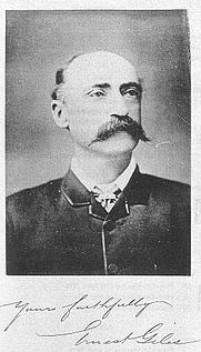 Author photo. William Ernest Powell Giles (7 July 1835 – 13 November 1897). Wikimedia Commons.