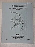 Gas Warfare at Belleau Wood, June 1918. by…