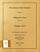 Diazotype Papers (The Institute of Paper…