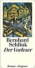 Der Vorleser by Bernhard Schlink