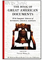 The Book of great American documents
