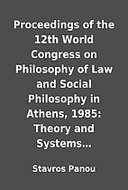 Proceedings of the 12th World Congress on…
