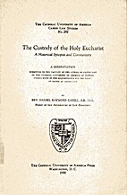 The Custody of the Holy Eucharist (1950) by…