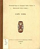 Occasional papers in Aboriginal Studies no.…