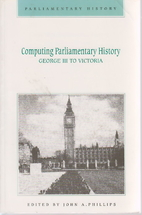 Computing Parliamentary history : George III…