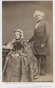 Author photo. Samuel Carter Hall (right)