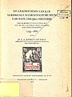 De geschiedenis van een verdwenen Haarlemsch…