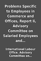 Problems Specific to Employees in Commerce…