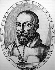 Author photo. Giulio Cesare Croce (1608)