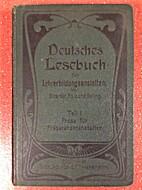 Deutsches Lesebuch für…