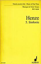 5. Sinfonie by Hans Werner Henze