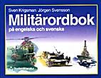 Militärordbok på engelska och svenska by…