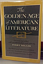 The Golden Age of American Literature by…
