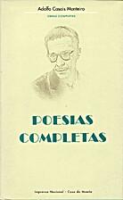 Poesias Completas by Adolfo Casais Monteiro