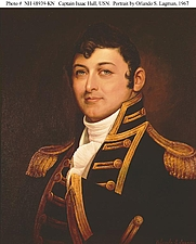 Author photo. Portrait by Orlando S. Lagman, after Gilbert Stuart, 1967. (history.navy.mil)