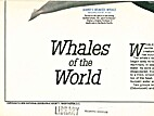 Whales of the World (Poster) by National…