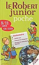 Le Robert junior poche : 8/11 ans, ce/cm by…