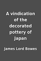 A vindication of the decorated pottery of…