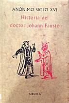 Historia del doctor Johann Fausto
