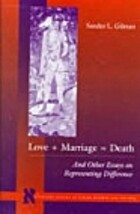 Love Marriage=Death And Other Essays on…