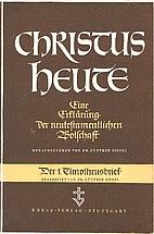 Christus Heute - Band VII, Der 1.…