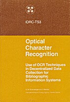 Optical character recognition : use of OCR…