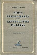 Nuova crestomazia della letteratura italiana…