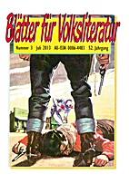 Blätter für Volksliteratur, 2013, Nr. 3,…