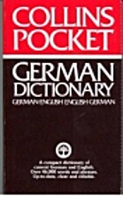 Collins Pocket German-English Dictionary by…