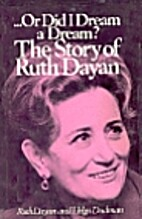 And perhaps: The story of Ruth Dayan, by…