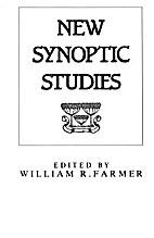 New Synoptic Studies: The Cambridge Gospel…