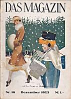 Das Magazin Nr. 16 Dezember 1925 by F. W.…