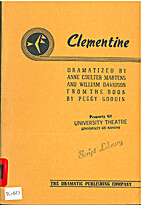 Clementine by Anne Coulter Martens