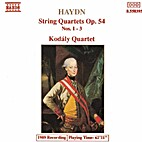 String quartets op. 54 (sound recording) by…