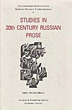 Studies in 20th century Russian prose by…