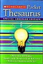 Scholastic Pocket Thesaurus, Special…