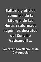 Salterio y oficios comunes de la Liturgia de…