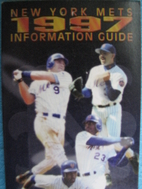1997 New York Mets Media Guide by New York…