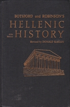 Hellenic history by George Willis Botsford