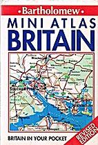Mini Atlas Britain by John Bartholomew