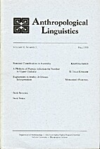 Anthropological Linguistics 37 (1995) 3:…