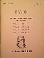 Haydn: The Thirty-one Piano Trios: Vol. II:…