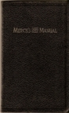 Merck's 1899 Manual of the Materia Medica…