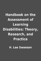 Handbook on the Assessment of Learning…