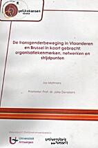 De transgenderbeweging in Vlaanderen en…