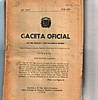 Gaceta Oficial: Santo Domingo de Guzmán, 20…