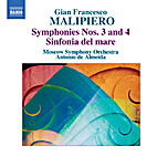 Symphonies Nos. 3 and 4; Sinfonia del mare…