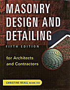 Masonry Design and Detailing for Architects…